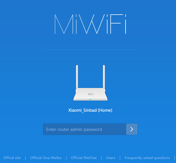 Router Setting