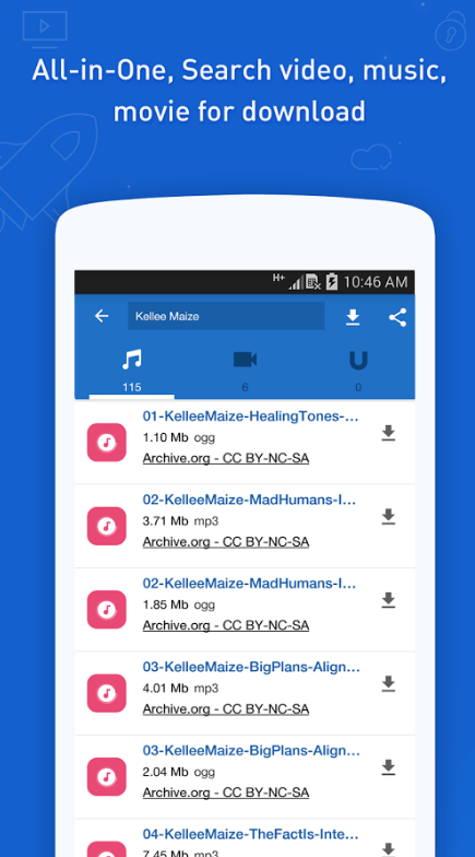 Best Free Music Downloader App For Android » Incredible Central