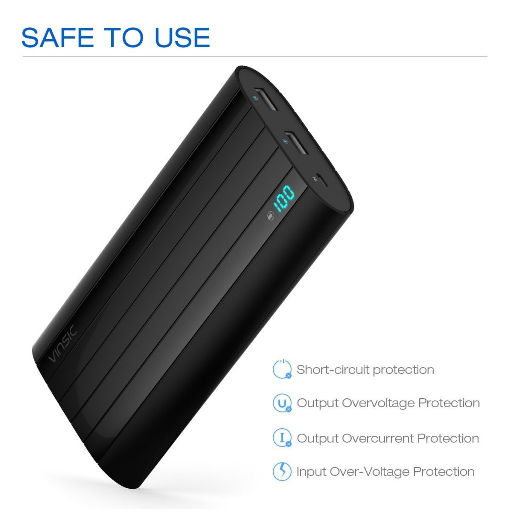 Safe portable power bank