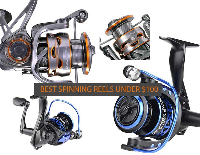 Best Spinning Reels Under $100 Dollars