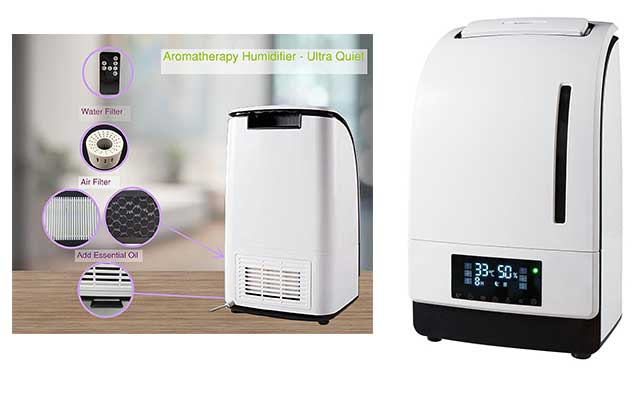 Warm Mist Humidifier For Small Room