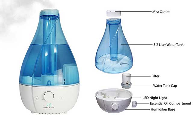 best warm mist ultrasonic humidifier