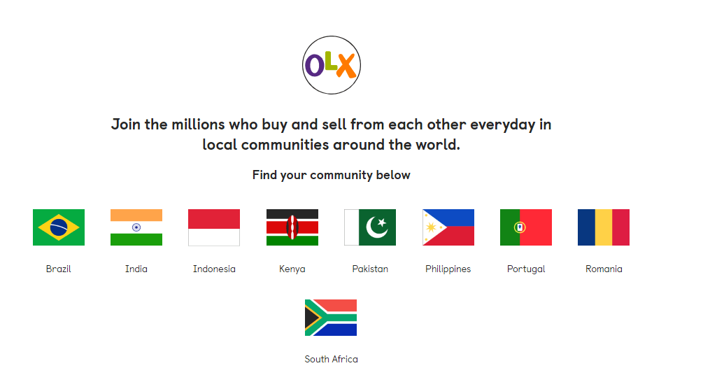 OLX Selling Website