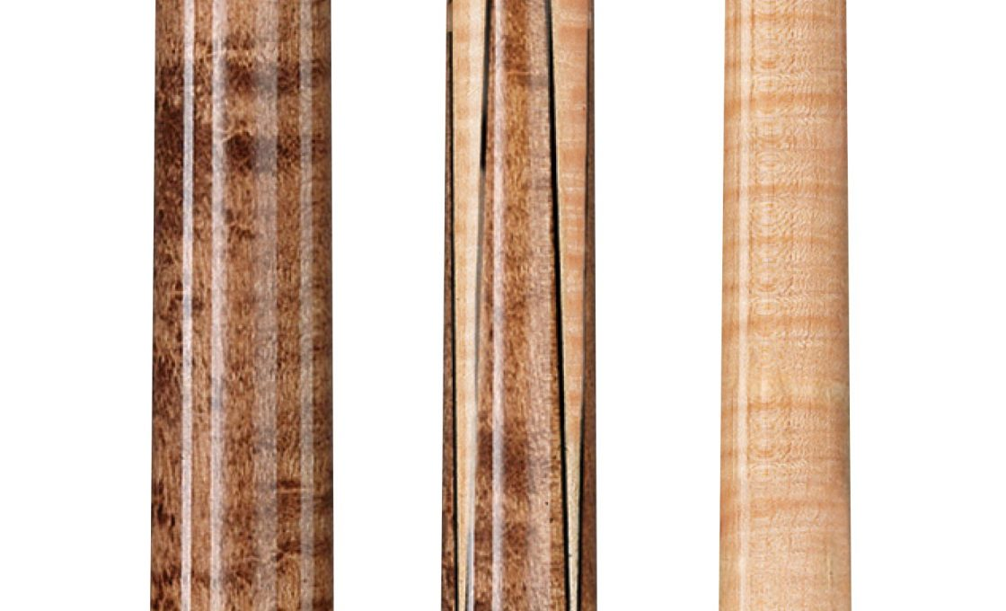 Lucasi Custom Birds-Eye Maple Sneaky Pete Pool Cue