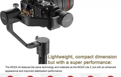 3-Axis Handheld Gimbal Camera Stabilizer