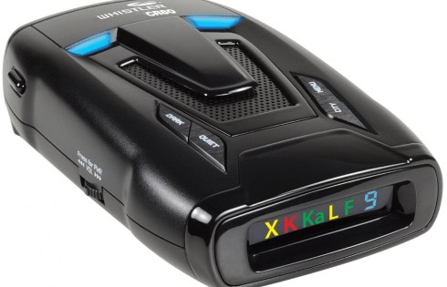 Whistler CR80 High Performance Laser Radar Detector